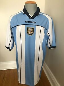 Details about Reebok Official Argentina Football (Soccer) Jersey Men Size XL