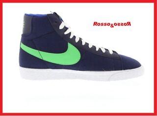 Nike Qt TkLl 3r8 blazer medio pelle scamosciata vintage