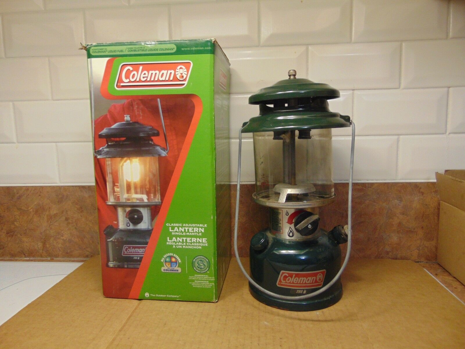 Vintage   lantern  coleman   288     nice  new products novelty items