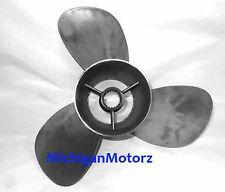 """MerCruiser Bravo III Propeller, 14-1/4"""" x 22"""", Solid Steel Spline - QS3322S"""