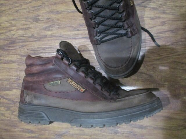 MEPHISTO Gore Tex brown leather ankle work hiking boots sz 9