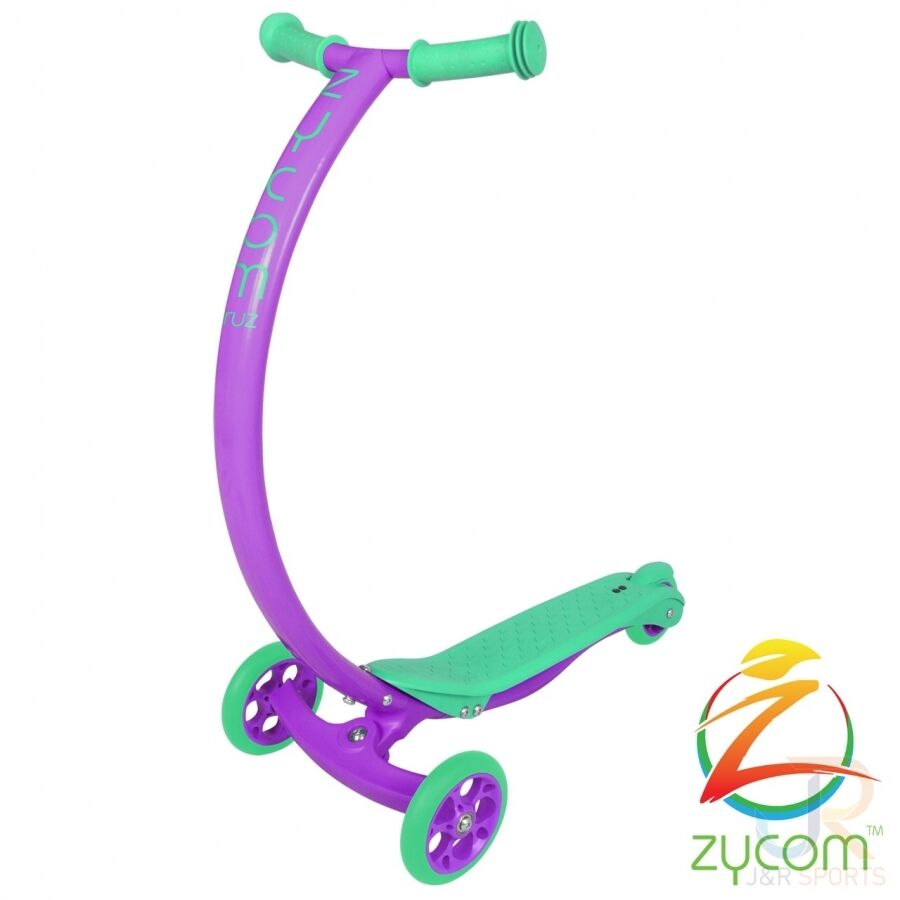 Zycom C100 Cruz Kids Mini Scooter - Purple   Turquoise