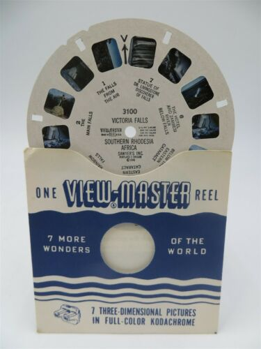 Africa Southern Rhodesia Victoria Falls View-Master Reel 3100 Single Reel
