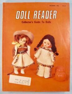 Doll-Reader-Vintage-Collectors-Magazine-November-1982-Ginny-Cowgirl-Vogue-O