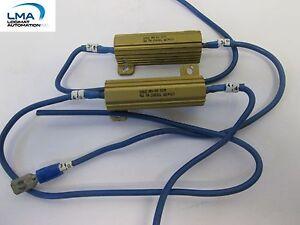 2x-DALE-RH-50-POWER-RESISTOR-4-OHMS-1-50w