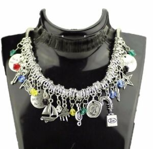 12 Themed Charms Broadway Musical Hamilton Assorted Metal Charm BRACELET