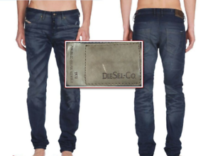 DIESEL  Braddom  Regular Slim Carred Leg Whiskered Jeans 0816H NEW NWT