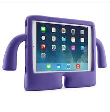 kids cute shockproof IGUY Child Soft Grip stand cover case for iPad 2,3,4