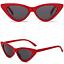 OCCHIALI-DA-SOLE-Vintage-Retro-GATTO-Cat-Eyewear-DONNA-SPECCHIO-Modello-2019 miniatura 13