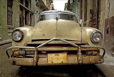 Cuba car sticker deco ref 527-16 dimensions