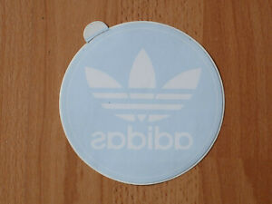 Details zu adidas Scheiben Aufkleber (Ø 12,5 cm)