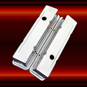 Valve-Covers-for-SBC-Small-Block-Chevy-Engines-Chrome-Plated-Tall-Height
