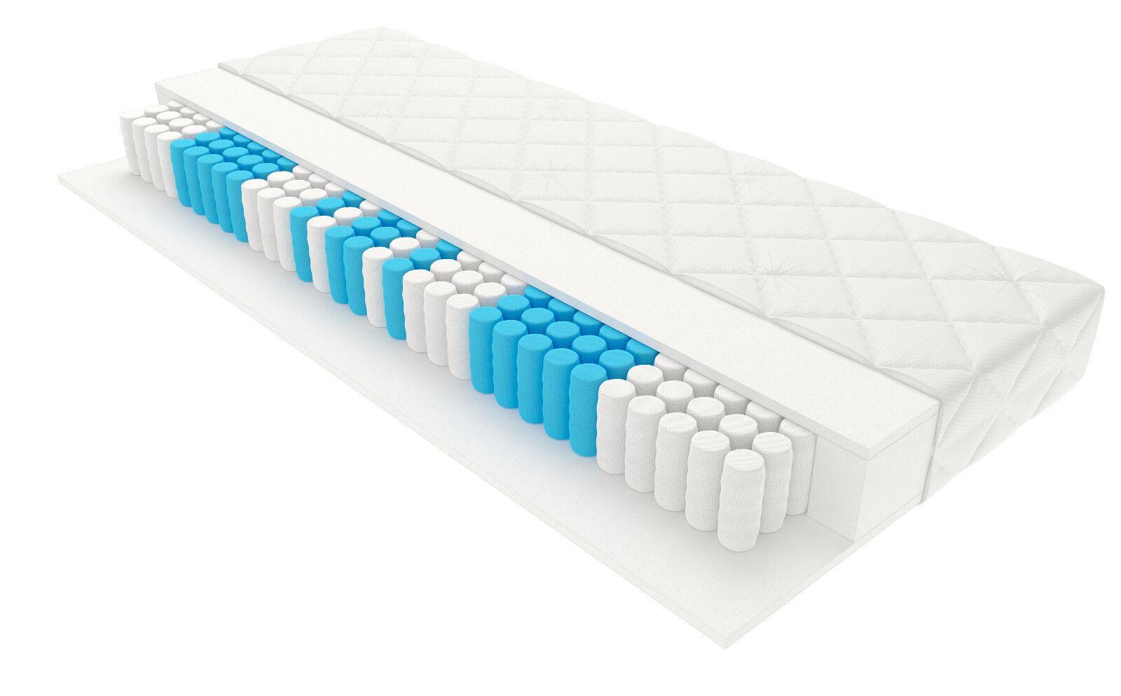 7 Zonen Taschenfederkern Matratze Federkern Tonnentaschenfederkern Höhe 20 cm H3