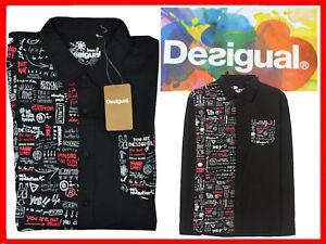 DESIGUAL-Camisa-Para-Hombre-Talla-M-Hasta-80-DE14-N1G