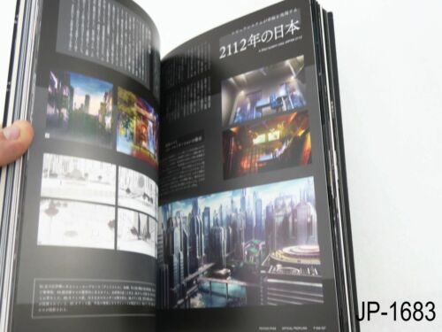 Psycho Pass Official Profiling Japanese Artbook Japan Guide Book US Seller