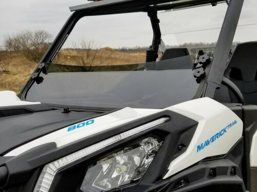 Spike Half Windshield Tinted For Can-Am Maverick TRAIL 77-2650T Fits All Years