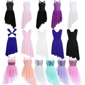 403b645bea63 Kid Dance Party Fairy Costume Girls Ballet Dancing Dress Leotard ...