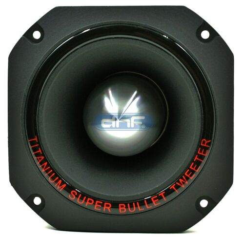 SAME DAY PRIORITY SHIPPING! DNF Titanium Super Horn Bullet Tweeter 1500 Watts