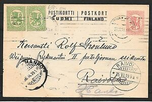 Finland covers 1919 uprated PC to Raivola redirected to Hanko