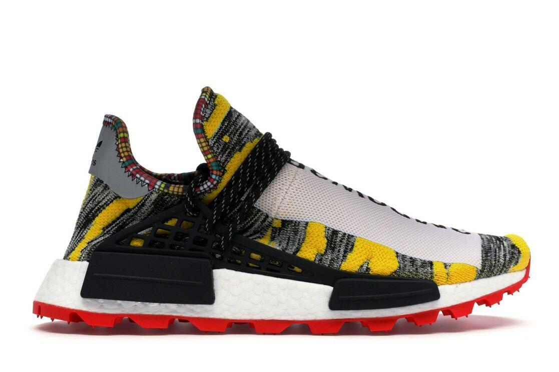 Adidas NMD HU Pharrell Solar Pack Red Size 10.5. BB9527 yeezy ultra boost pk
