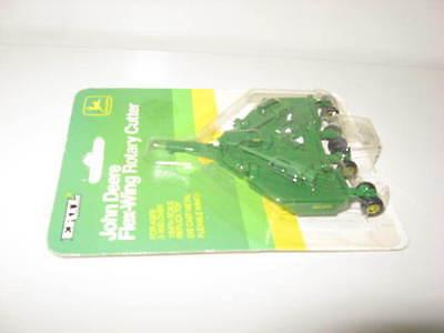 1/64 John Deere bush hog batwing mower w/ folding wings, very hard to find