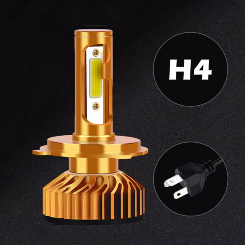 H4 Super Bright Car Driving LED Headlight Blubs Vehicle Replacement Beam Bulb
