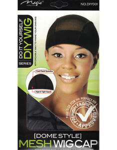 DO-IT-YOURSELF-MESH-DOME-WIG-CAP-COOL-MESH-SPANDEX-with-High-amp-Tight-Band-diy001