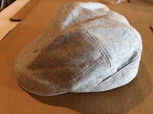 ead69da92c9 Men s Wool Blend L XL Cabbie-Golf-Gatsby Hat New W Tag Light Grey