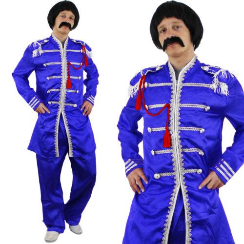 Sergeant Pepper Costume IN COPPIA Adulti FAB due Pop Rock Star Costume Vestito