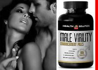 Male Enhancement - Male Virility Sexual Performance Maca 1 Bottle 60 Tablets