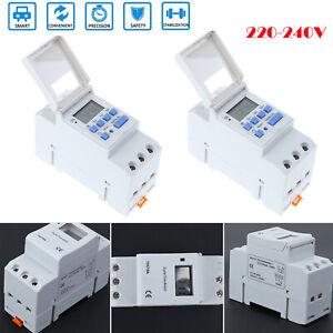 AC-220-240V-commutateur-de-relais-de-minuterie-de-rail-hebdomadaire-programmable