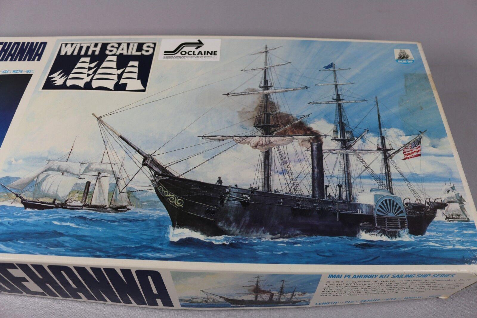 Zf039 Imai 1 150 Modellino Modellino Modellino Barca Vela B-355 Susquehanna 713x195x434mm f22eac