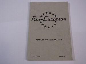 HONDA-ST1100-ST1100-1990-PAN-EUROPEAN-PAN-EUROPEAN-MANUEL-DU-CONDUCTEUR
