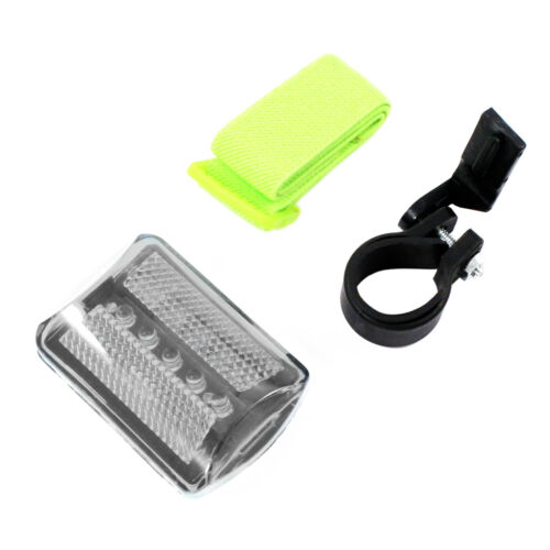 7 Function White Safety Flasher 2 Pack