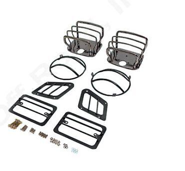 Tailight /& Blinker Kit 1997-2006 Jeep Wrangler /& Unlimited Euro Guard Headlight