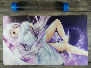 YuGiOh Ghost Reaper /& Winter Cherries Master Rule 4 TCG Playmat Free best tube