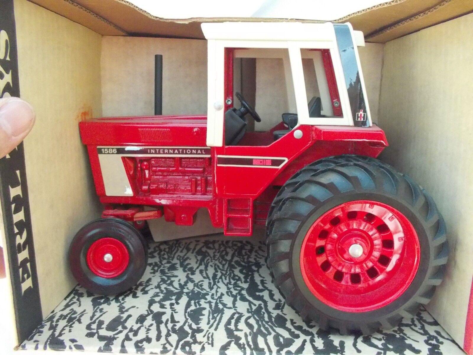 International 1586 tracteur  avec cabine IH échelle 1 16 Vintage ERTL co Neuf dans sa boîte en 463 Box  jusqu'à 42% de réduction
