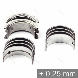 Mitsubishi-2-4-2-0-1-8-1-6-4G63-4G64-4D65-GDI-Turbo-Main-Bearings-Shells-0-25mm