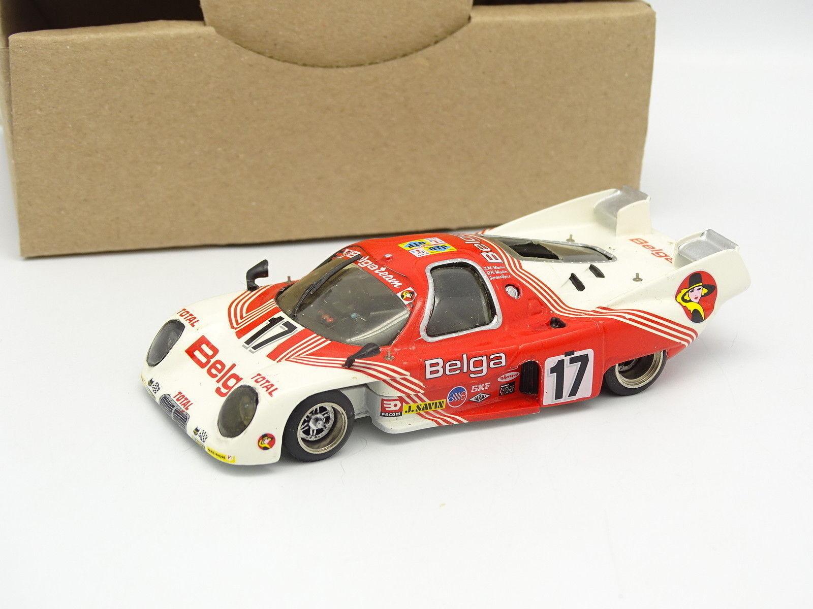 AMR GYL Kit Metal Assembled SB 1 43 - Rondeau M379B Le Mans 1980 Belga No.17