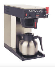 Newco Ace Tc Coffee Brewer 108465 B Pourover Carafe Coffee Maker Plumbed