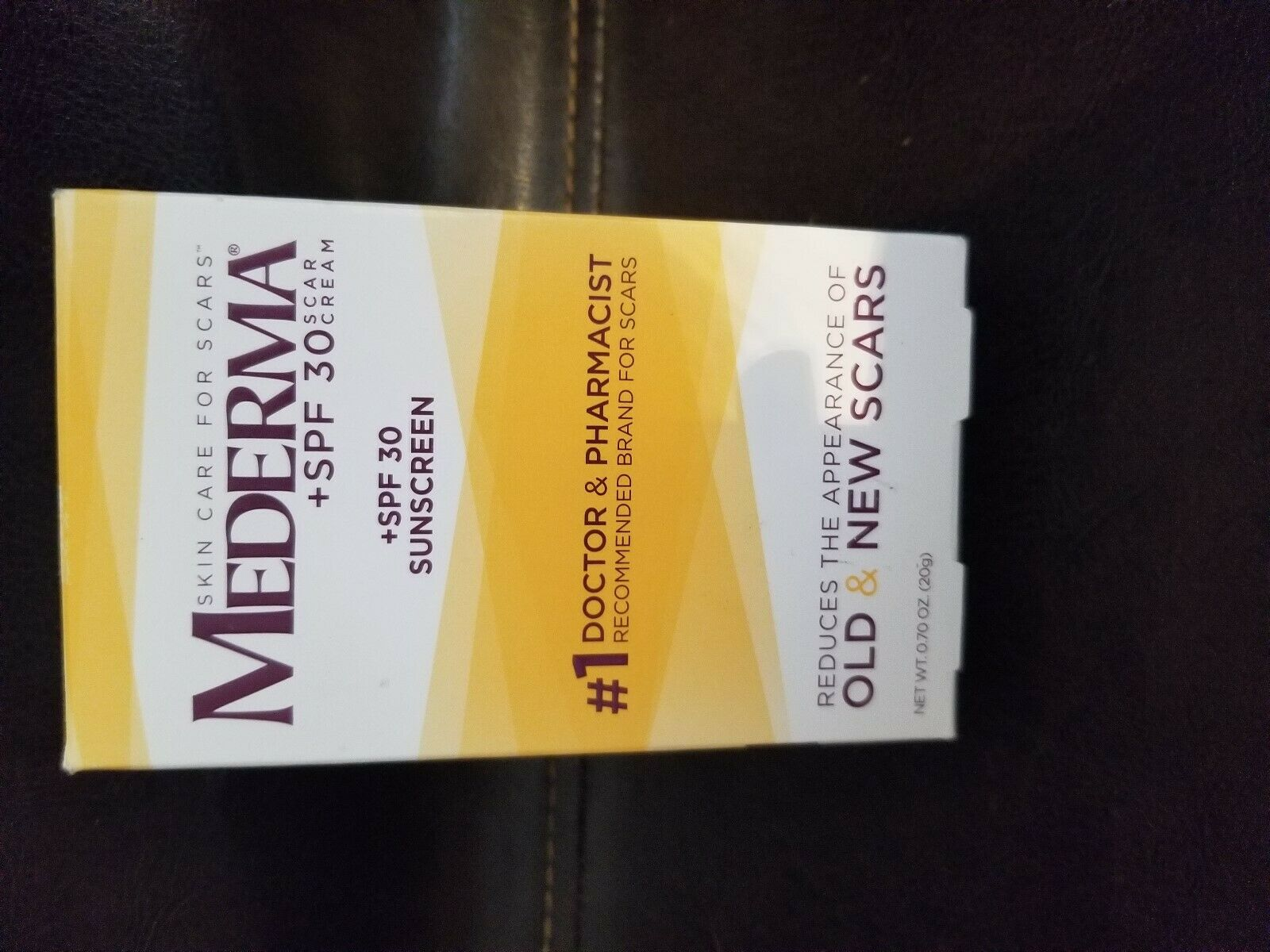Mederma Scar Cream Plus Spf 30 7 Oz 20g Exp1 2021 186295000687 Ebay