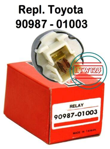 Tail Light Horn Multi Purpose 90987-01003 Rep Toyota Relay AC