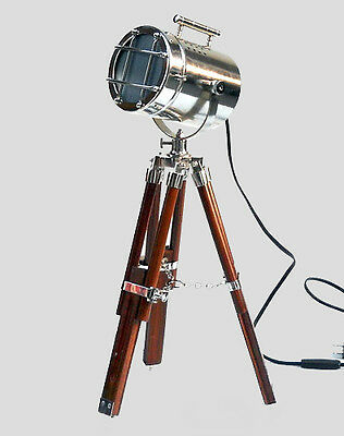 Vintage Home & Office LED Desk Lamp Tripod Spot Lover Night Lamp Electric Plug