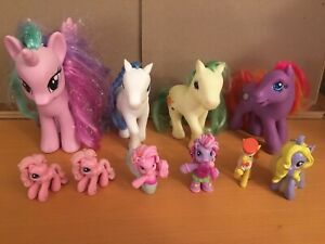 My Little Pony Lot See Pictures For What You Get Pvc Mcdonalds Ebay