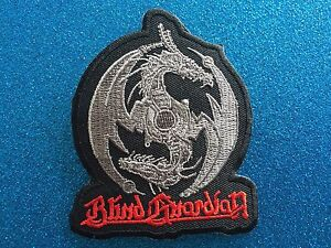 DRAGON-BLIND-Guardian-Fantasy-Thrash-Death-Metal-Stitched-Iron-ON-Patch-Patches
