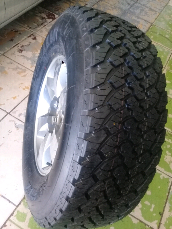 GRIPMAX A/T 265/70R16 &16Inch TOYOTA  HILLUX/FORTUNA Magrim For SPARE