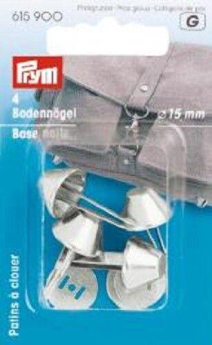 PRYM Laccio per Borse Grip 4 pezzi STEG larghezza 18mm ARGENTO COLORATE 615130