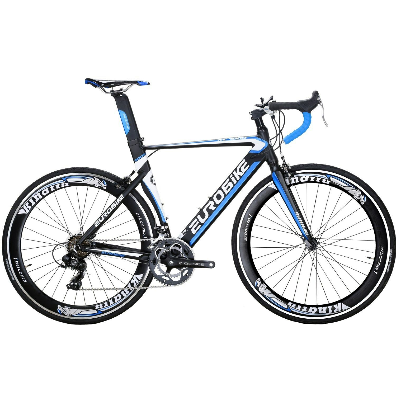 Mens Road Bike 54cm 14 Speed light ALuminium frame Racing Bicycle Bikes bluee