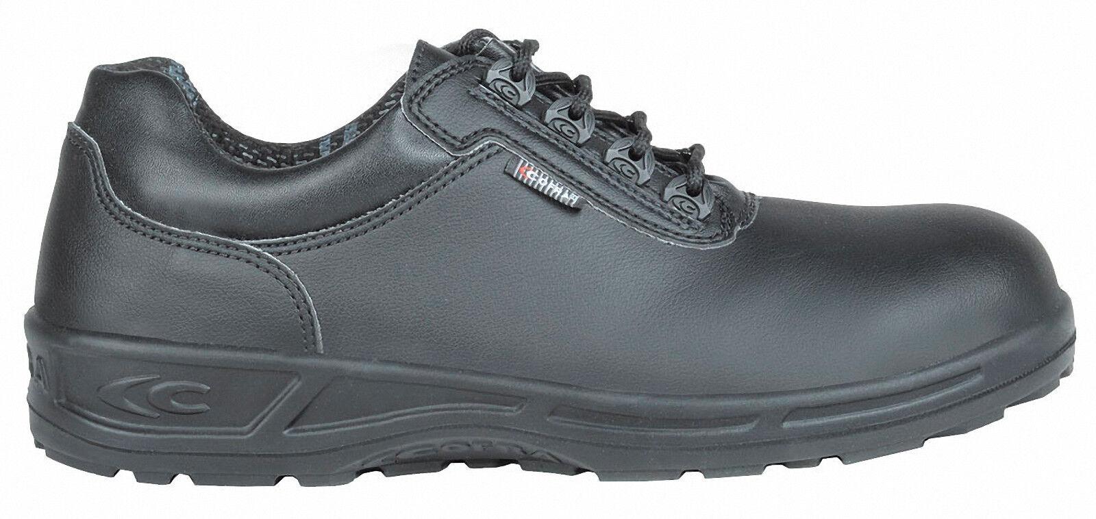 Berufsschuh Cofra PHARM Arbeitsschuhe S2 schwarz schwarz Gr. 39-48  | Elegante Form
