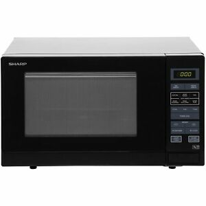 sharp microwave r372km 900 watt microwave free standing. Black Bedroom Furniture Sets. Home Design Ideas